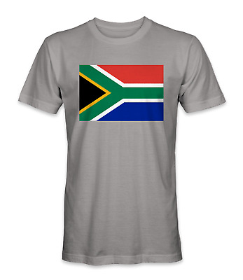 £11.55 • Buy South Africa Country Flag T-shirt