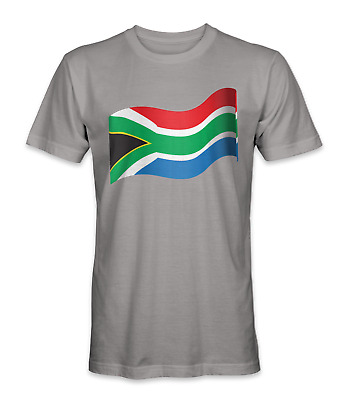 £14.48 • Buy South Africa Country Flag T-shirt