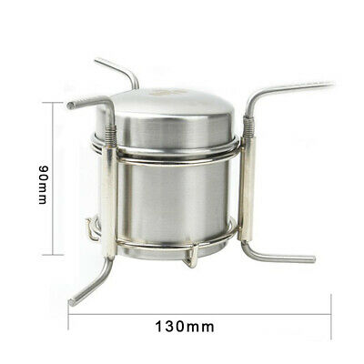 AU33.70 • Buy 9*8cm Alcohol Stove BBQ Backpack Barbecue Camping Liquid Burner Outdoor New