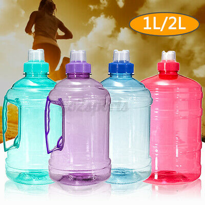 AU11.99 • Buy 1/2/3.78L PC Big Large Water Bottle Workout Sport Gym Training Cycling Drink Cap
