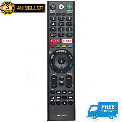 AU49.99 • Buy New RMF-TX310P Voice Remote For SONY TV KD-49X8000G KD-43X8000G KD-65X8077G