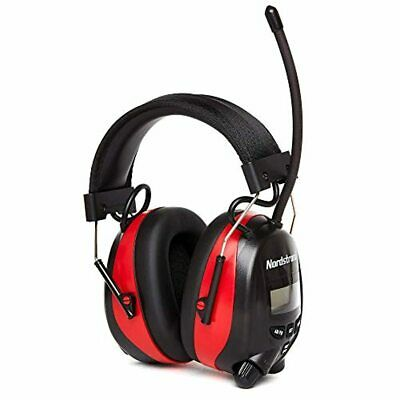 Nordstrand Ear Defenders AM/FM Radio, Protection Muffs Headphones, Phone Ready • 51.73£