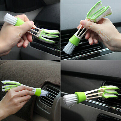 AU6.81 • Buy Car Accessories Plastic Cloth Brush Cleaning Auto Air Conditioner Vent Cleaner