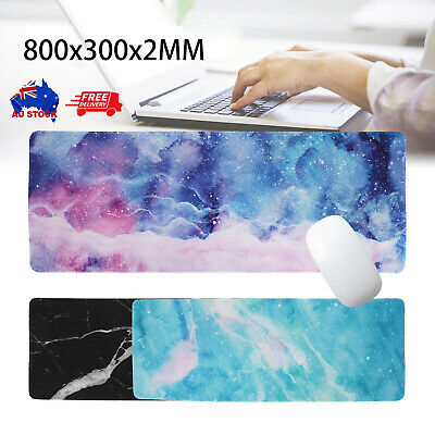 AU11.99 • Buy Anti-slip Rubber Extra Large Size Desk Mat Gaming Work Mouse Pad