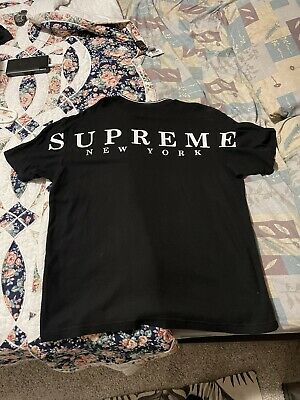 $ CDN95.69 • Buy SUPREME 19SS Stripe Rib Waffle Top T-shirt BLACK L Box Logo