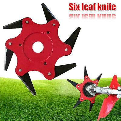 AU30.59 • Buy 6-Blade Razor Lawn Mower Trimmer Head Grass Weed Eater Brush Cutter Garden Tool