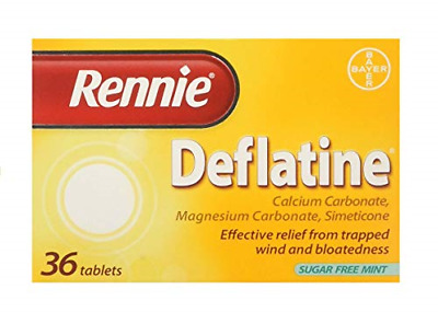 Rennie Deflatine, Trapped Wind And Bloating Tablets, Fast And Effective Relief 1 • 6.94£