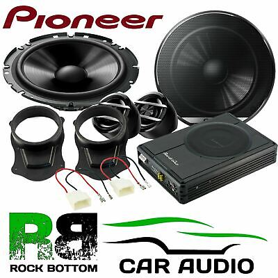 Ford Transit Connect 2013 On Pioneer Front Car Speakers & 300W Underseat Sub Kit • 229£