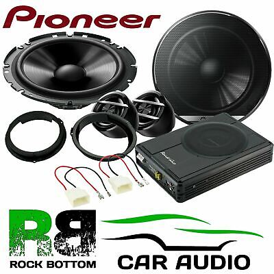 Ford Transit Custom 2010 On Pioneer PG Front Car Speakers & 300W Underseat Kit • 229£
