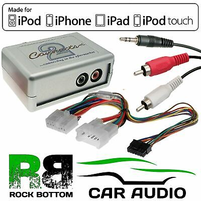 £34.95 • Buy CTVTYX001 Toyota Avensis 1998-04 Car Aux Input MP3 IPhone IPod Interface Adaptor
