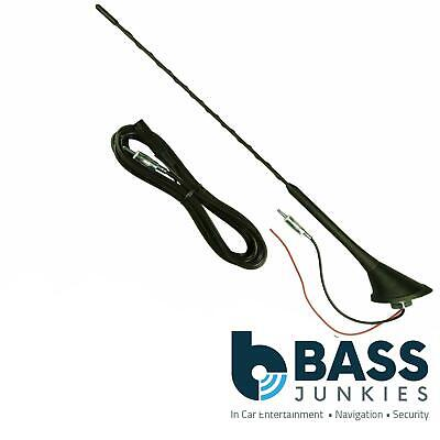 Bee Sting Amplified Roof Mount AM/FM Car Radio Stereo Aerial Antenna 4.5M RMA868 • 14.95£
