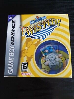 AU129 • Buy Warioware Twisted Gameboy Advance Game Boxed (GBA)