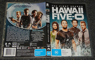 AU12.44 • Buy Hawaii Five-0- Season 1 (6-disc Set) (dvd, M) (160854 V)