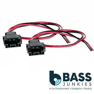 £7.99 • Buy Front Or Rear Speaker Adaptor Plug Lead Cable Wire Connectors Fit Audi TT MK1