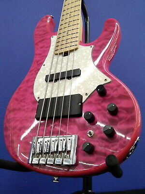$ CDN644.32 • Buy GRASSROOTS Electric Bass 5-string G-T-80BD Used Hard Maple NECK W/Soft Case
