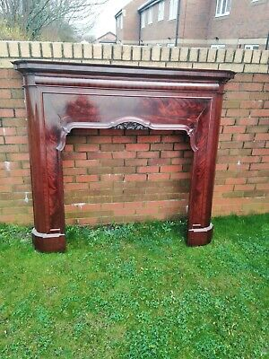 Mahogany Fire Surround French Antique Large • 750£
