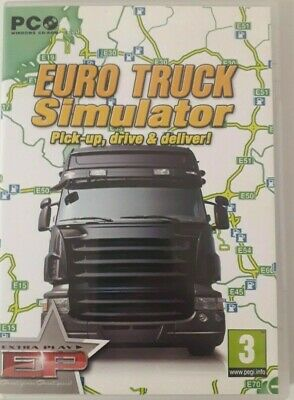Euro Truck Simulator (PC CD Game) SCS Software ETS Original Lorry Driving Sim • 2.59£
