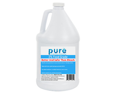 AU36.66 • Buy Pure Hydrogen Peroxide Disinfectant 3% 1 Gal.