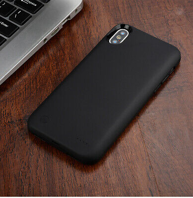 Black Battery External Power Charging Case Cover Charger For Apple IPhone X XS • 20.98£