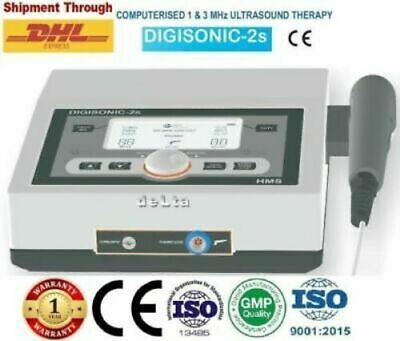 £353 • Buy New Ultrasound Therapy 1 & 3 Mhz Frequency Digisonic 2S Physiotherapy Machine  @