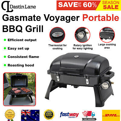 AU147 • Buy Portable Gas BBQ Grill With Cooking Grill Griddle Plate Barbecue Camping GASMATE