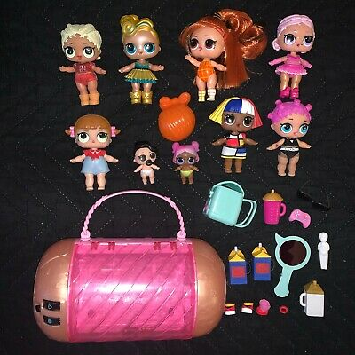 $ CDN93.74 • Buy LOL Surprise Doll Lot Girls Lil Sisters Ultra Rare Luxe Hairgoals Accessories