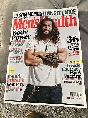 Mens Health Magazine Dec 2020 New • 2.30£