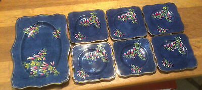 $ CDN43.20 • Buy Lovely Art Deco Grimwades  Royal Winton Sandwich Set Tray And 6 Plates  1 A/f