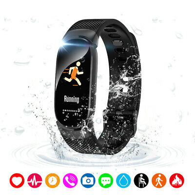 AU27.94 • Buy Lixada Smart Bracelet Real-time Heart Rate Monitor Fitness Sports Tracker G7F1