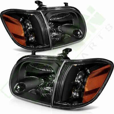 $141.01 • Buy One Pair For 2005-2006 Toyota Tundra 2007 Sequoia Headlamps Headlights Assembly