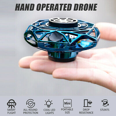 AU17.62 • Buy Hand Operated Drones For Kids Adults Hand Control Induction 360° Rotating K7H5