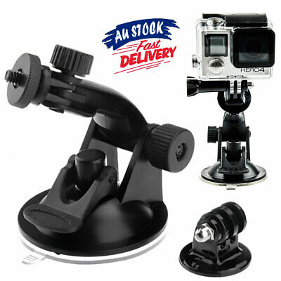 AU9.85 • Buy GoPro 3+ 4 5 Gopro Accessories Windshield Mount Car Suction Cup Window Holder