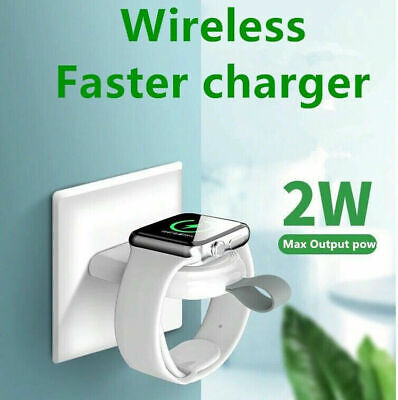 $ CDN6.33 • Buy USB Magnetic Wireless Charger Adapter For Apple Watch SE / Series 6 5 4 3 2 1 @$