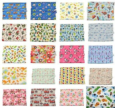 AU4.99 • Buy Large Single Zip Waterproof Baby Wet Bag Nappy Bag For Cloth Nappies 30cm X 40cm