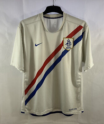 Holland Away Football Shirt 2006/08 Adults Large Nike E10 • 39.99£