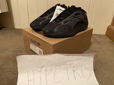 $ CDN524.58 • Buy Adidas Yeezy Boost 700 V3 Black Alvah DEADSTOCK Authentic Size US 8 UK 7.5 EU 41