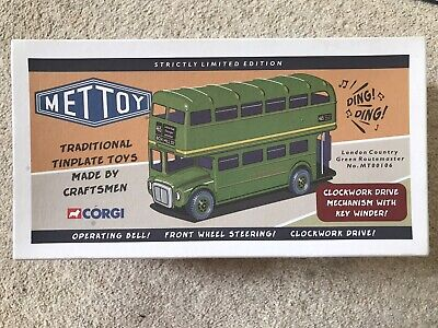 Mettoy London Country Green Routemaster MT00106 • 150£