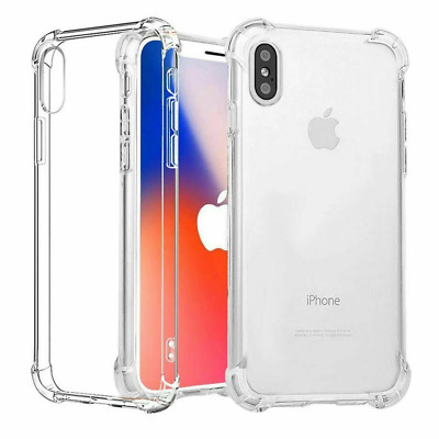 AU4 • Buy IPhone 11 12 Pro XS Max XR 8 7 6 6s Plus Clear Case Soft Transparent Shockproof