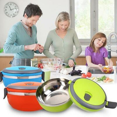 AU9.99 • Buy Lunch Box Bento Thermos Heat Food Container Portable Food Warmer Compact B9H7