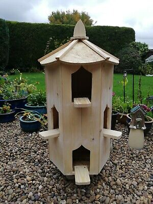Dovecote Six Sided Dove House Dovecotes Large Bird House  Box Garden Dovecote  • 144£