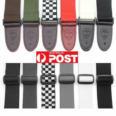 AU9.95 • Buy Replacement Adjustable Guitar Strap Belt For Acoustic/Electric/Bass