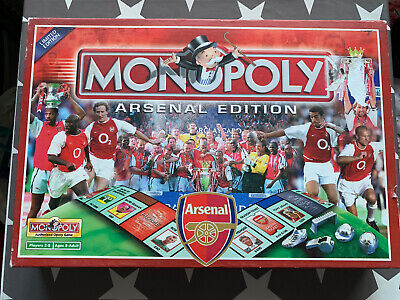£18.84 • Buy Arsenal FC Limited Edition Monopoly Game 2002 Rare Football Hasbro Henry Wenger