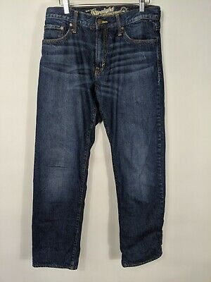 $24 • Buy Old Navy Men's Straight Leg Flannel Lined Jeans Size 30/31 Free Ship