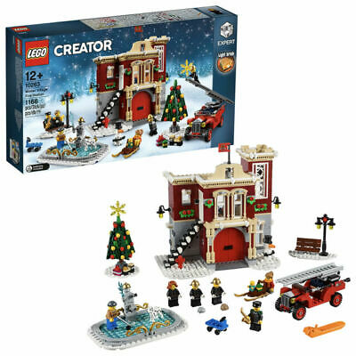 Lego Creator 10263 Winter Village Fire Station New & Factory Sealed • 119.99£