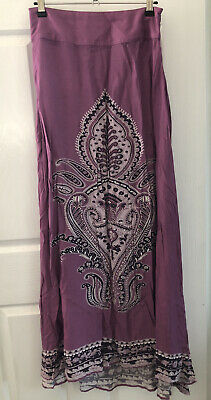 AU44.95 • Buy Arnhem Skirt Size Small S New Without Tags Purple Lilac Gorgeous Colours Rare
