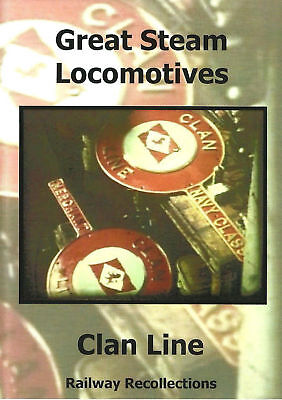 £15.99 • Buy Clan Line DVD: No 35028 Oliver Bulleids Merchant Navy Class Southern Railway BR