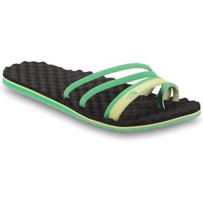 The North Face Base Camp Trifecta Mojito Green Women's Sandals Flip Flops UK 8 • 24.99£