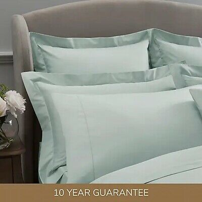 £4.19 • Buy Dorma 300 Thread Count 100% Cotton Sateen Plain Pillow Cases - Sold Separately