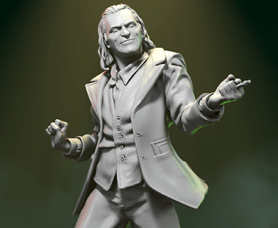 DC JOKER || Custom Miniature Resin Model Kit 75mm-125mm • 20.99£