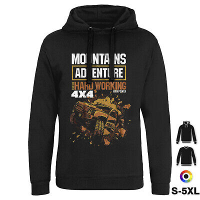 Mountain Adventure Vehicles Hoodie Off Road 4X4 Rover Extreme Sport Land P306 • 18.99£